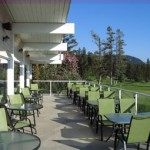 Williams Lake Golf and Tennis Club - Club House Deck