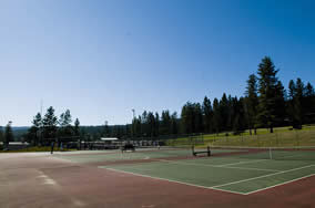 Williams Lake Golf and Tennis Club - Tennis Courts