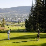 Williams Lake Golf and Tennis Club - Fourth hole Tee Box