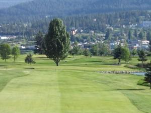 Williams Lake Golf and Tennis Club - Fourth hole