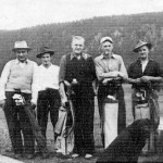 Early Club Members at the 9th Hole